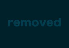 Tatted-up brunette gets covered in cum like a slut