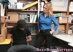 Mall cop milf gets fucked
