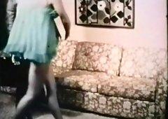 Fabulous amateur Hairy, Vintage sex scene